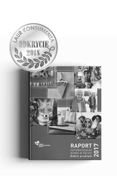 Odkrycie Roku 2018 Laur Konsumenta. DZIĘKUJEMY
